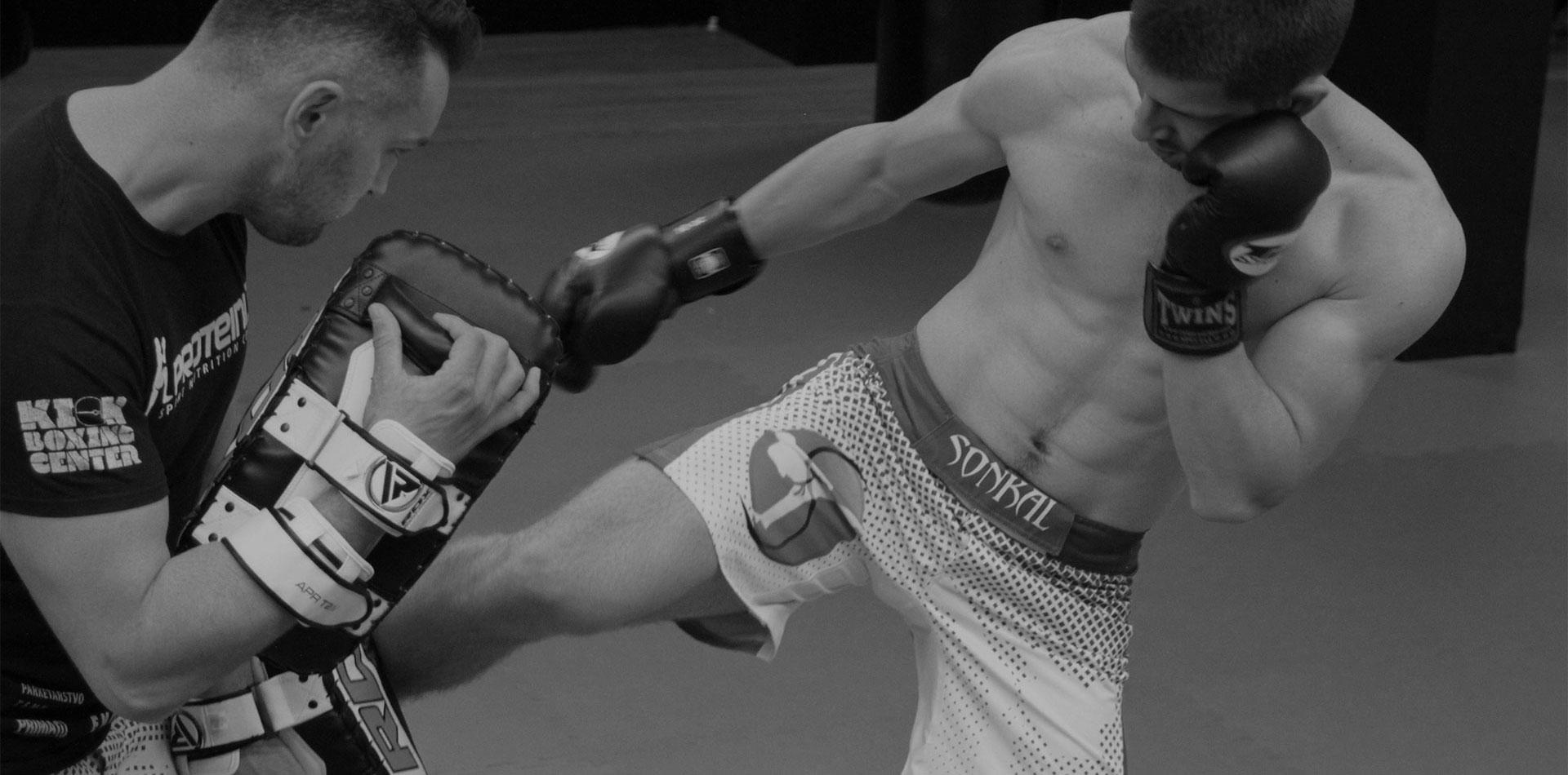Kickbox treninigi v športnem centru Playbox Mengeš